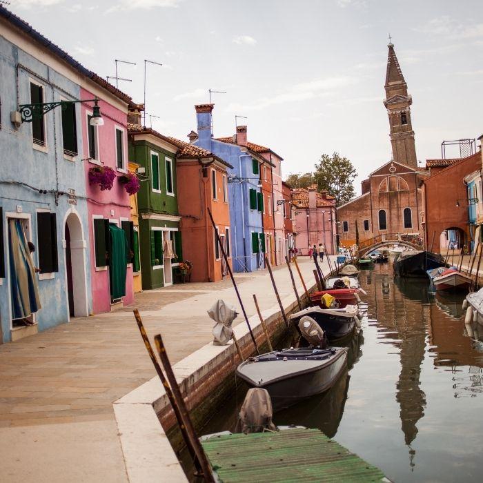 Come arrivare a Burano da San Marco